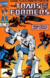 Transformers (The) (1984) -25- Megatron's last stand