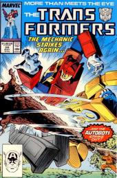 Transformers (The) (1984) -28- The mechanic strikes again...