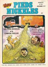 Trio - Les Pieds Nickelés Magazine -22- N°22