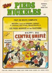 Trio - Les Pieds Nickelés Magazine -25- N°25