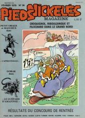 Trio - Les Pieds Nickelés Magazine -36- N°36