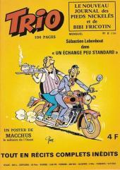Trio - Les Pieds Nickelés Magazine -8- N°8
