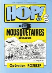 Les 3 Mousquetaires du Maquis -4- Opération Rosbeef