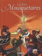 Les trois Mousquetaires (Morvan/Rubén) -2- Volume 2