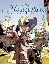 Les trois Mousquetaires (Morvan/Rubén) -3- Volume 3