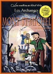 Vick et Vicky (Les aventures de) -6- Les Archanges du Mont St Michel 2