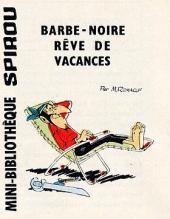 Le vieux Nick et Barbe-Noire -MR1420- Barbe-Noire rêve de vacances