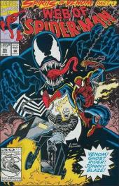 Web of Spider-Man (1985) -95- Spirits of venom part 1: storm shadows