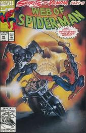 Web of Spider-Man (1985) -96- Spirits of venom part 3: enemies, a hate story