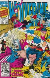 Wolverine (1988) -55- Thirty slashes over Tokyo