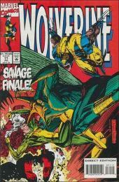 Wolverine (1988) -71- Triassic Park