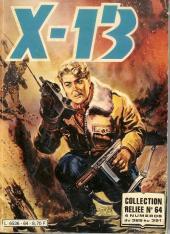 X-13 agent secret -Rec64- Collection reliée N°64 (du n°388 au n°391)