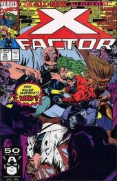 X-Factor (Marvel comics - 1986) -72- Multiple homicide