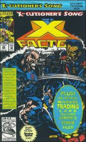 X-Factor (Marvel comics - 1986) -85- X-Cutionner's song part 6 : snikts and bones