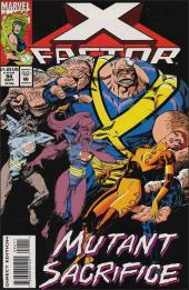 X-Factor (Marvel comics - 1986) -94- The longuest day part 2 : evening where
