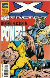 X-Factor (Marvel comics - 1986) -AN09- Annual 9 : Contact / Cleaning house