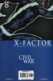 X-Factor (2006) -8- Collision course