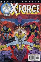 X-Force (1991) -116- Exit wounds
