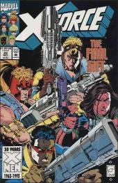 X-Force (1991) -22- Ordnance weighed in blood