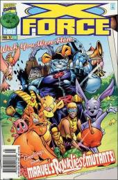 X-Force (1991) -66- Tragic Kingdom