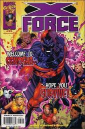 X-Force (1991) -95- Magnetic distraction