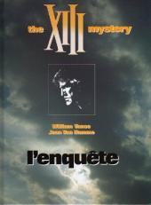 XIII (France Loisirs - Album Double) -13HS- The XIII mystery - l'enquête
