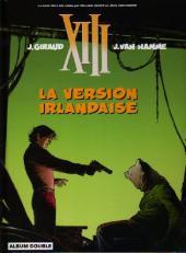 XIII (France Loisirs - Album Double) -9- La version irlandaise / le dernier round