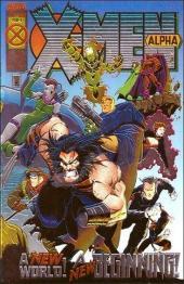 X-Men Alpha (1995) - Beginnings...