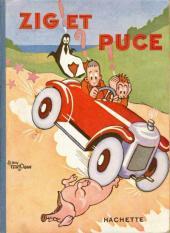 Zig et Puce (Hachette) -1- Zig et Puce (En route pour l'Amérique)