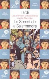 Adèle Blanc-Sec (Les Aventures Extraordinaires d') -5Librio- Le Secret de la Salamandre