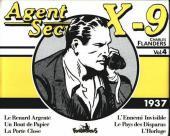 Agent secret X-9 (Futuropolis) -INT4- Intégrale Vol.4 - 1937