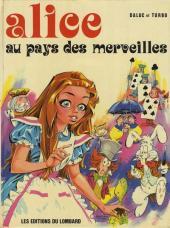 Alice au pays des merveilles (Daluc/Turbo/Greg) -1- Alice au pays des merveilles