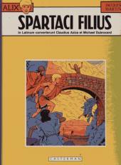Alix (en langues étrangères) -12Latin- Spartaci filius