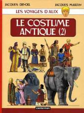 Alix (Les Voyages d') -10- Le Costume antique (2)