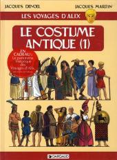 Alix (Les Voyages d') -6- Le Costume antique (1)