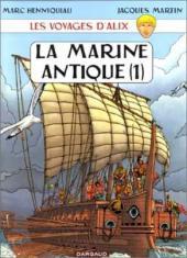 Alix (Les Voyages d') -4a- La Marine antique (1)