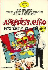 Ambroise & Gino -12- Mystère à Milan