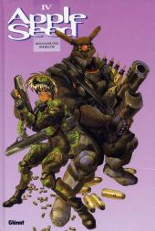 Couverture de Appleseed -4- Appleseed IV