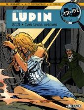 Arsène Lupin (Duchâteau, CLE) -3- 813 - Les trois crimes