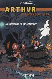 Arthur le fantôme justicier (Cézard, divers éditeurs) -8(3)- Le seigneur de Malpartout