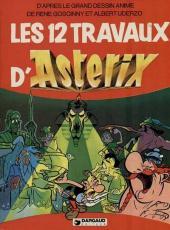 Astérix (Hors Série) -C01b1983- Les 12 Travaux d'Astérix