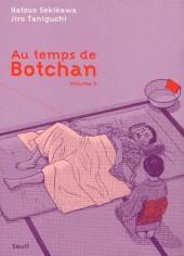 Au temps de Botchan -5- Volume 5 - La mauvaise humeur de Soseki