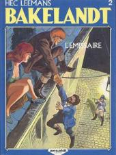 Bakelandt -2- L'émissaire