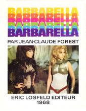 Barbarella - Tome 1b