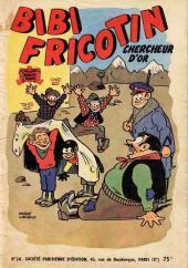 Bibi Fricotin (2e Série - SPE) (Après-Guerre) -24- Bibi Fricotin chercheur d'or