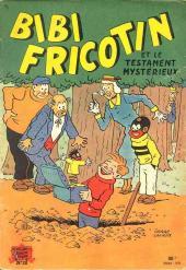 Bibi Fricotin (2e Série - SPE) (Après-Guerre) -28- Bibi Fricotin et le testament mystérieux