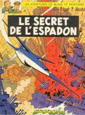 Blake et Mortimer (Historique) -Int1- Le Secret de l'Espadon