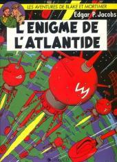 Blake et Mortimer (Les aventures de) (Historique) -6h1988- L'Énigme de l'Atlantide