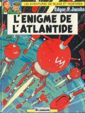 Blake et Mortimer (Les aventures de) (Historique) -6g1982/03- L'Énigme de l'Atlantide