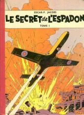 Blake et Mortimer (Historique) -1a56- Le Secret de l'Espadon - Tome I
